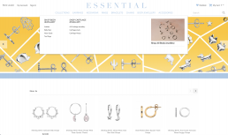 Magento Shopify Developer UK Berkshire Surrey Hampshire ERP Systems Integrator for The Essential Jewellery Company