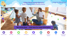 Wordpress website development for Abbey Wood Grange Pre-school Nursery