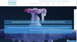 WordPress website designed and development for Ice and Snow Systems